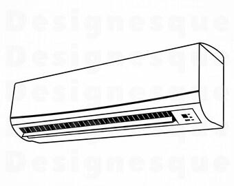 air conditioner etsy