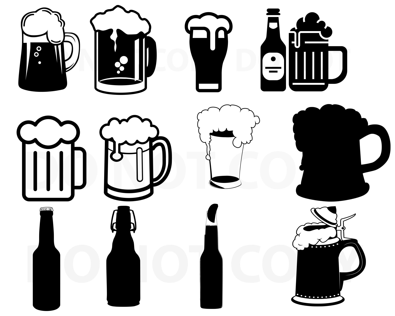 Beer Svg Bundle Beer Mug Vector Svg File For Cricut Design