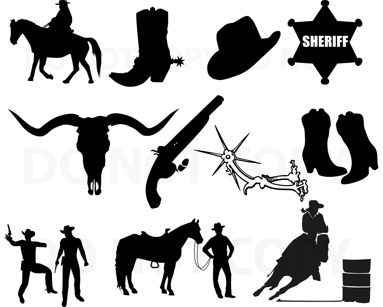 cowboy svg bundle cowboy