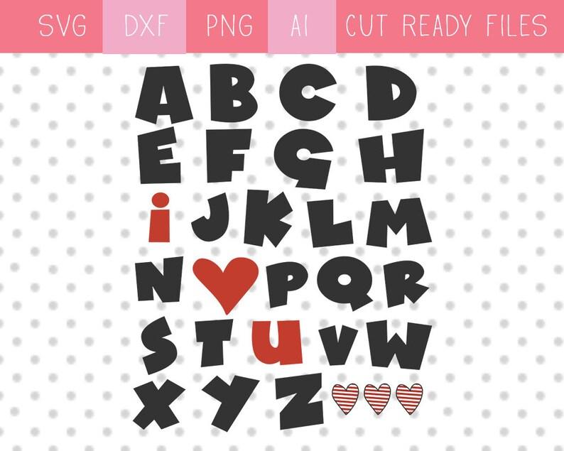 Download ABC Valentine SVG. I Love You SVG. Teacher Valentine svg ...