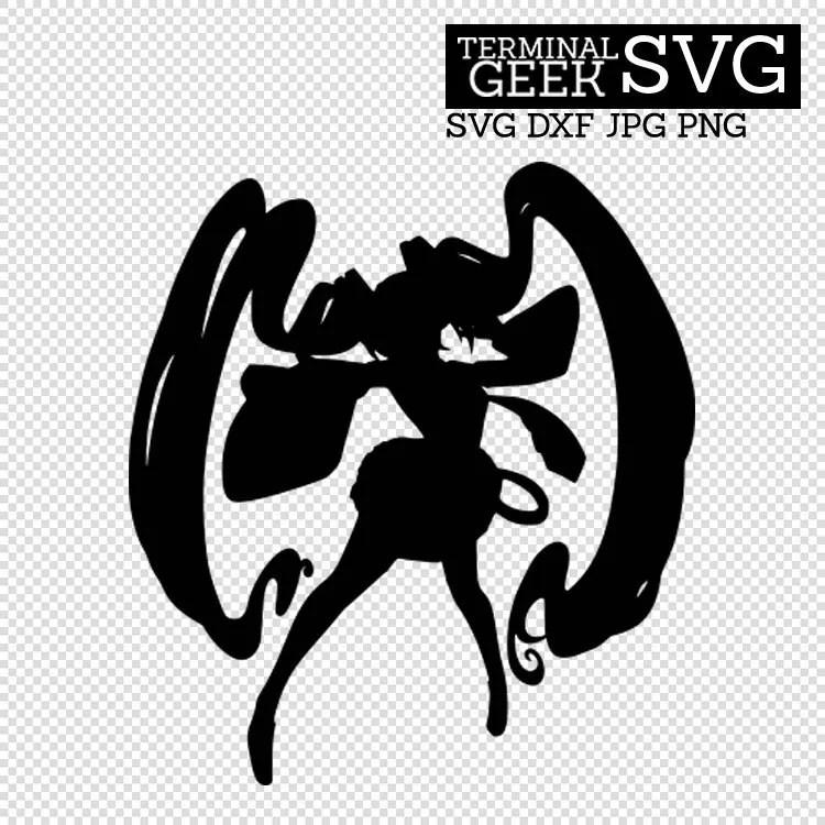 Download Hatsune Miku Anime Japan SVG DFX JPG Cricut Silhoutte Cut ...
