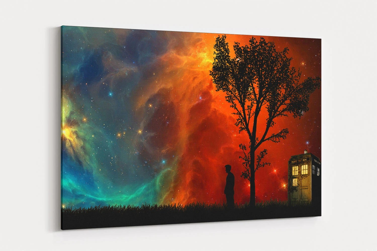 doctor who canvas wall
