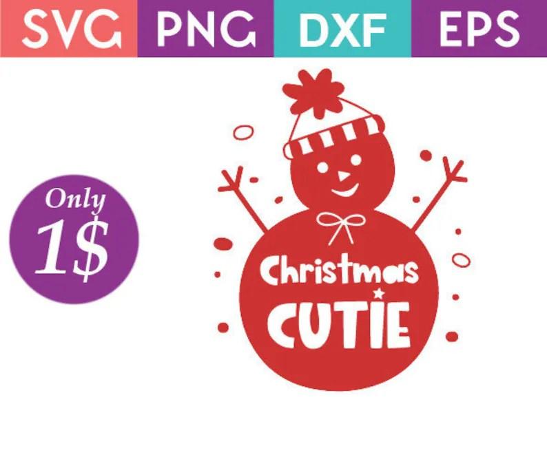 Download Christmas Cutie Christmas SVG Instant Download Cricut | Etsy