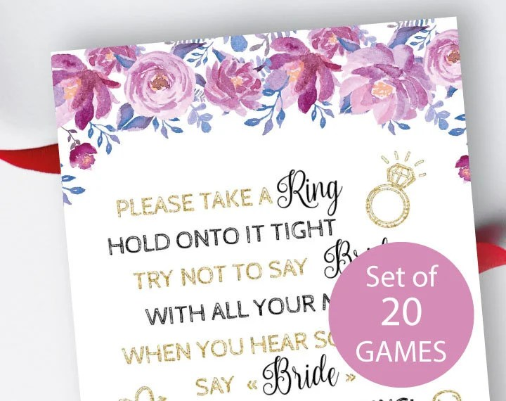 bridal shower games dont