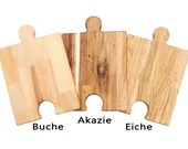 Puzzle dressing and cutting board (variant with 1 hole)