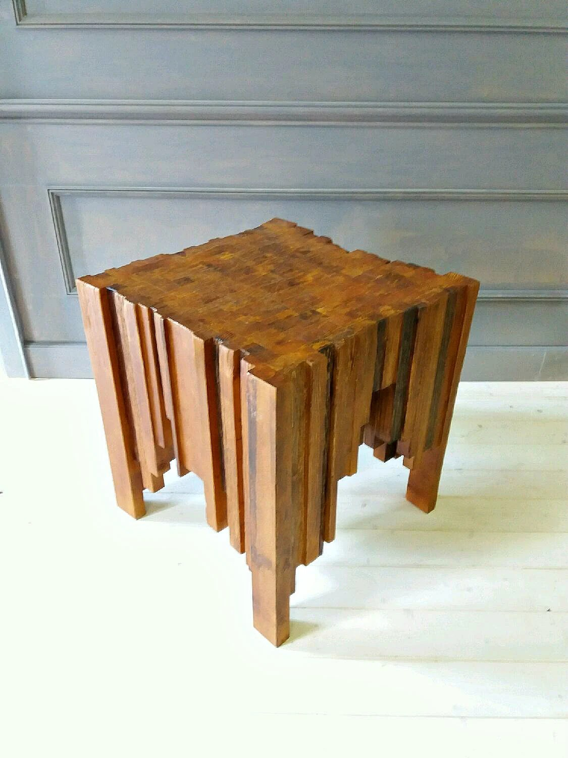 Mid Century Modern Coffee Table Solid Wood Table Coffee Etsy