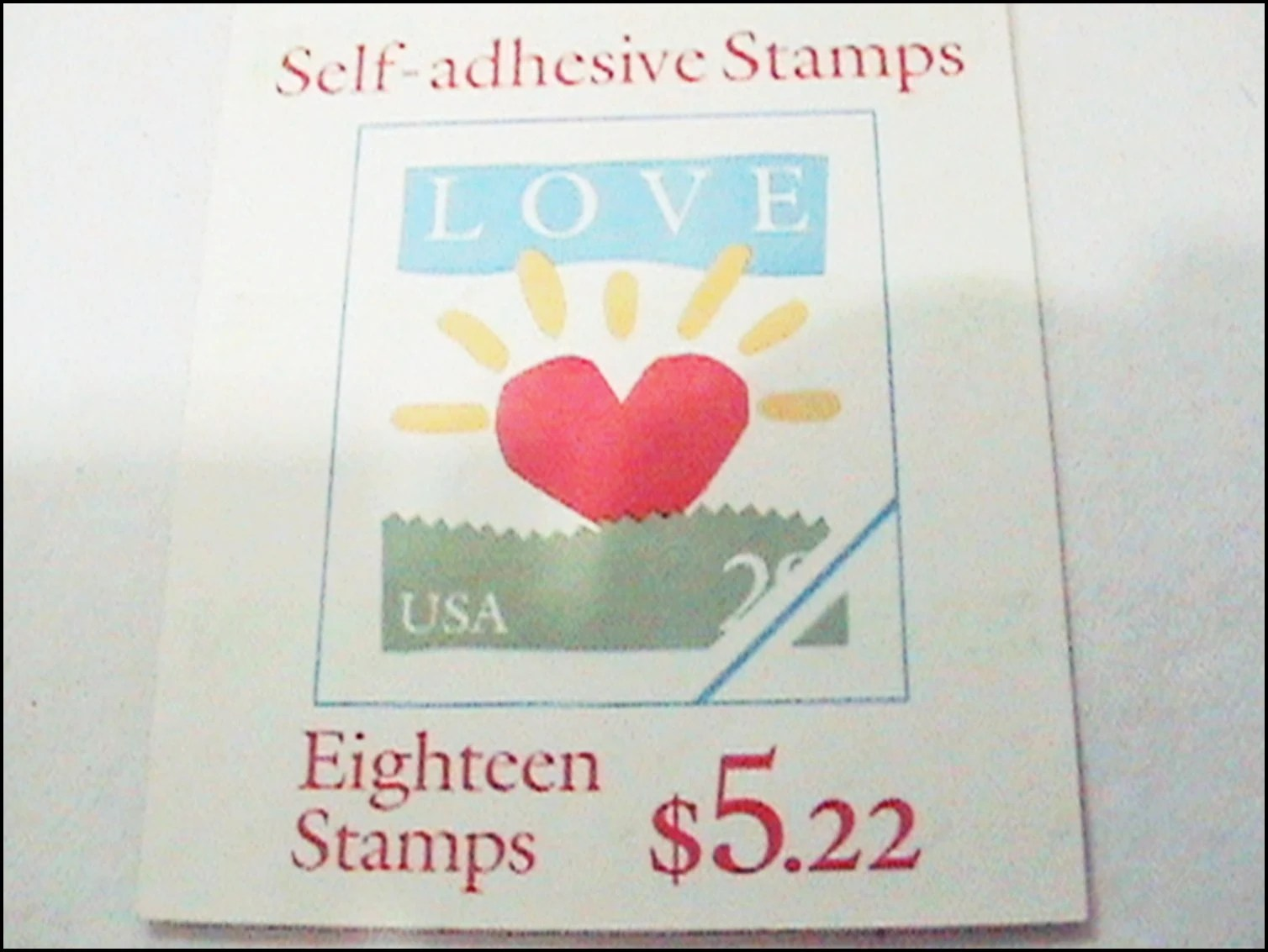 1993 love stamps
