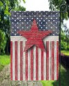 Distressed Wooden American Flag Garden Flag Sublimation Etsy