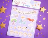 Set Stickers The Die-Cut Little Prince