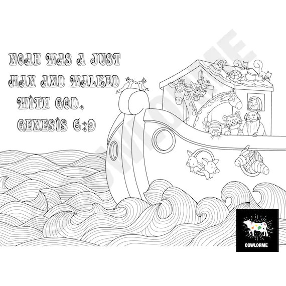 noah and the ark coloring pages # 38