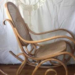 Bent Wood Rocking Chair Roller Design Bentwood Rocker Etsy 1970s Thonet