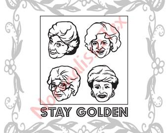 Download Golden girls svg | Etsy