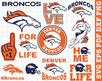 denver broncos svg