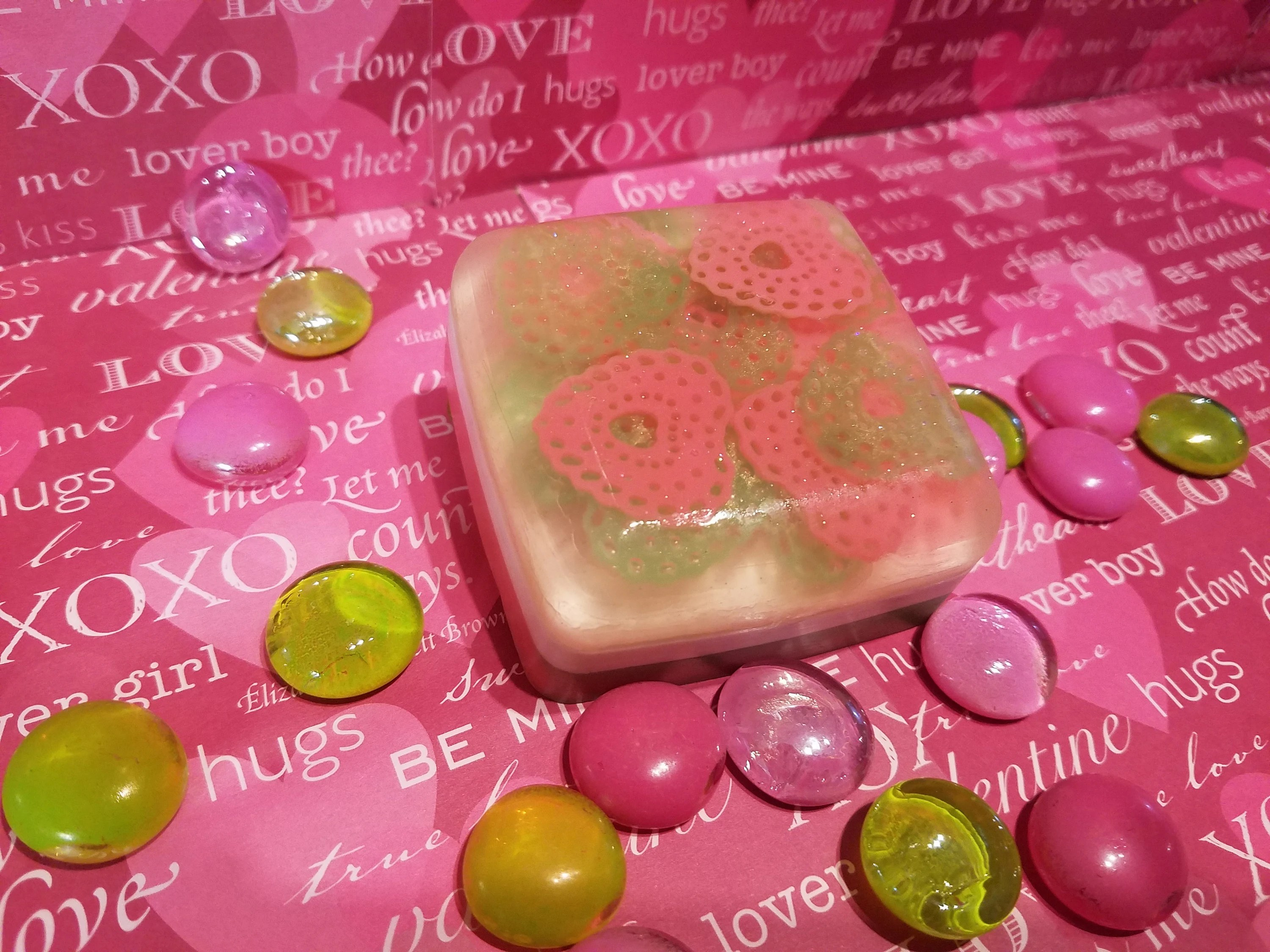 valentine s day soap