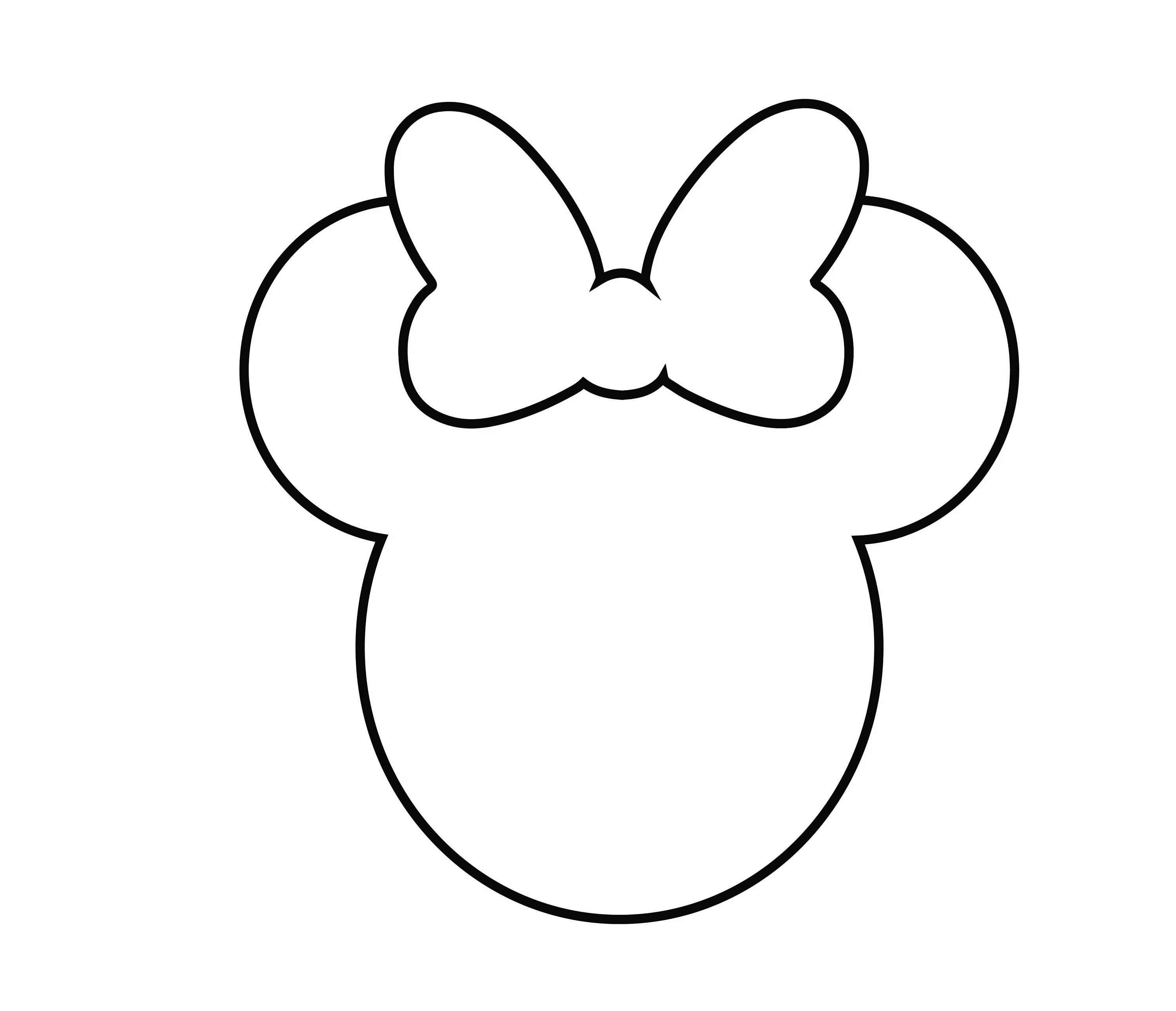 Disney Mickey Mouse svg mickey mouse head outline svg