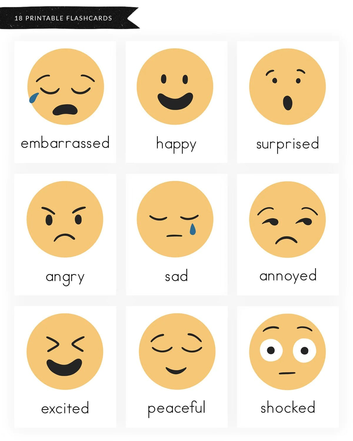 Emotions And Feelings Printable Worksheets Emotions