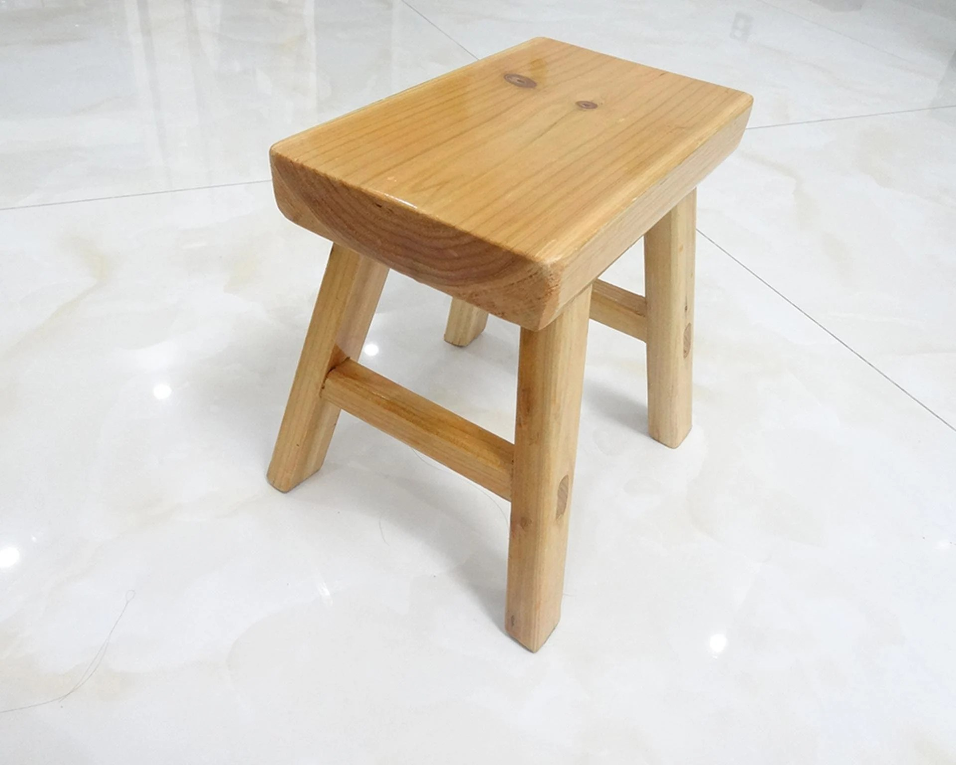 small wooden chair mid century swivel wood etsy new durable solid portable stool living room bench stools