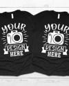 Couple Shirt Mockup Etsy