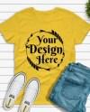 Shirt Mockup Jeans Etsy