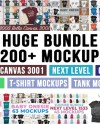 Huge Bundle Shirt Mockup Mega Bundle Bella Canvas Next Level Etsy