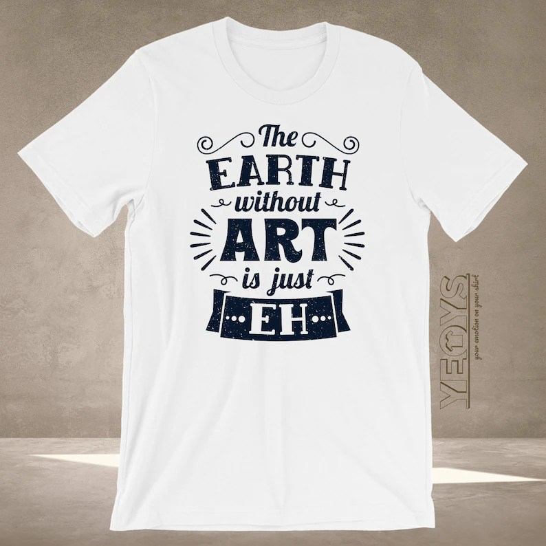 art teacher t shirt