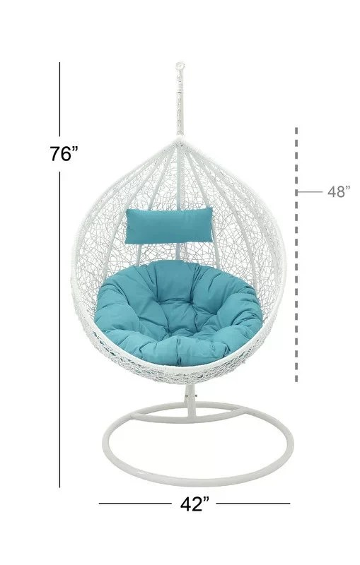 Swing Chair Stand Swing Chair With Stand Hanging Hammock Chair With Stand White Balcony Swing Outdoor Indoor Porch Swing