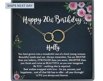 20th birthday gift etsy