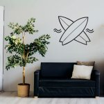 Surf Decal Surfing Wall Decal Surf Sticker Sticker For Wall Room Wall Decal Living Room Decal Surfboard Wall Decal Best Decals Wall Decor