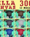 Christmas Bundle 12 Mockups Bella Canvas 3001 Tshirt Multi Etsy