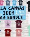 Bella Canvas 3001 T Shirt Mockup Mega Bundle 52 High Quality Etsy