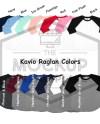 Kavio Raglan Color Chart Ijo0660 Tp0660 Yjp0660 All Etsy