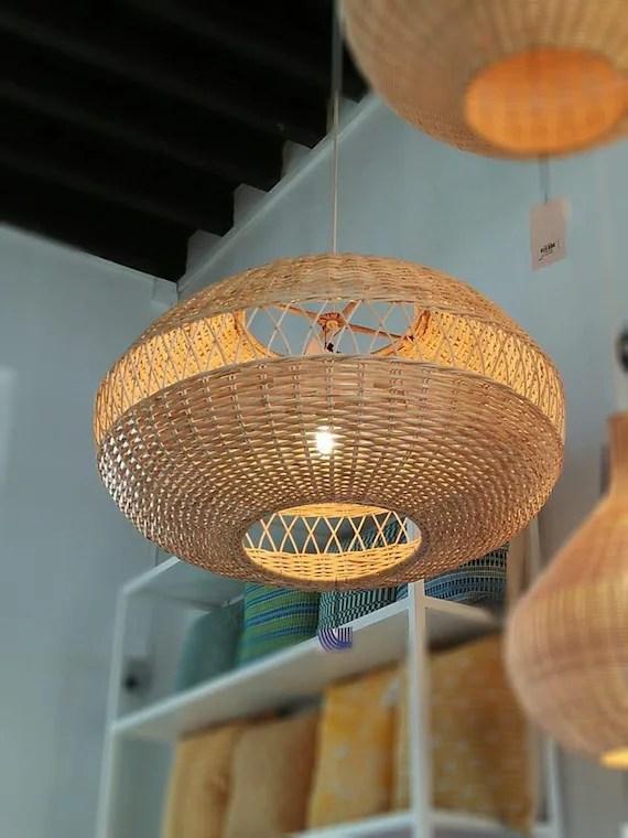 large rattan woven pendant lamp bamboo hanging lamp bamboo lampshade bamboo pendant light wood wicker chandelier