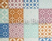 Backdrop tiles, colorfull tiles, backdrop for photography, ML147, product photography