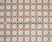 Portugese flower tiles backdrop, ML845, vinyl backdrop, colourful backdrop, Portugese tiles, backdrop foodphotography, myluciebackdrops
