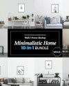 Minimal Home 10in1 Bundle Wall Frame Mockup Blank Wall Etsy