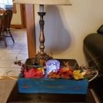 3 Mason Jar Box Center Piece Reclaimed Wood Weathered Spring Table Decor For Gift Wedding Storage
