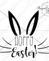 Hoppy Easter Svg And Dxf Cut Files Holiday Diy Sign Card Etsy