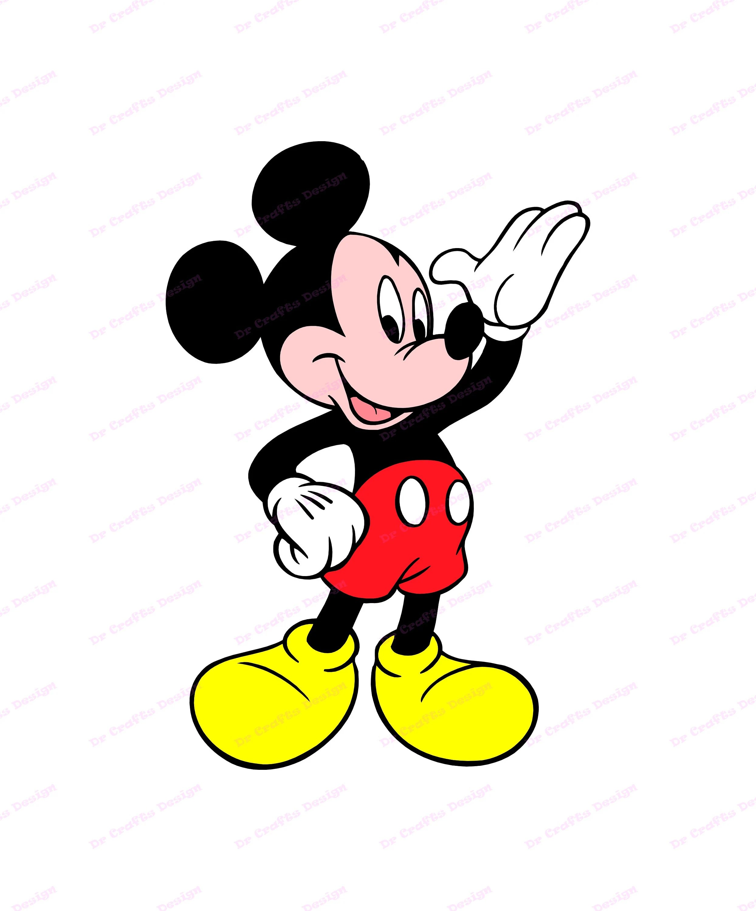 Mickey Face Svg : mickey, Mickey, Mouse, Cricut, Silhouette