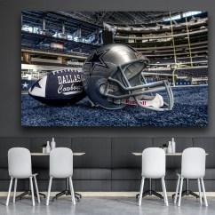 Cowboys Football Helmet Chair Patio Cushions With Velcro Fasteners Dallas Nfl Wall Art Canvas Print Etsy 50