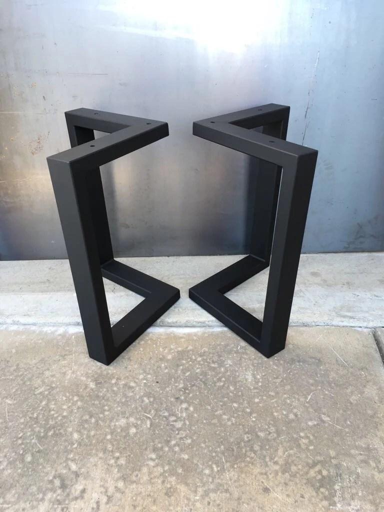 l shaped metal legs metal legs steel legs coffee table legs industrial legs bench legs