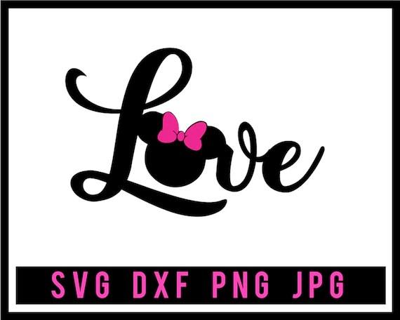 Download Mickey Love disney svg Love minnie svg love svg Love ...