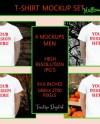Mens White T Shirt Mockup For Halloween Fall Tshirt Mock Up Etsy