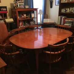 Vintage Table And Chairs Should I Get Chair Covers For My Wedding Kitchen Etsy Mid Century American Dining
