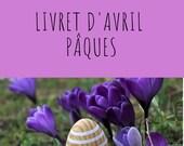 Livret d'activité d'avril - Pâques