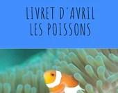 Livret d'activité d'avril - Les poissons
