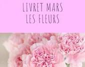 Livret d'activité de mars - Les fleurs