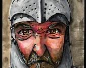 Medieval Knight ATC