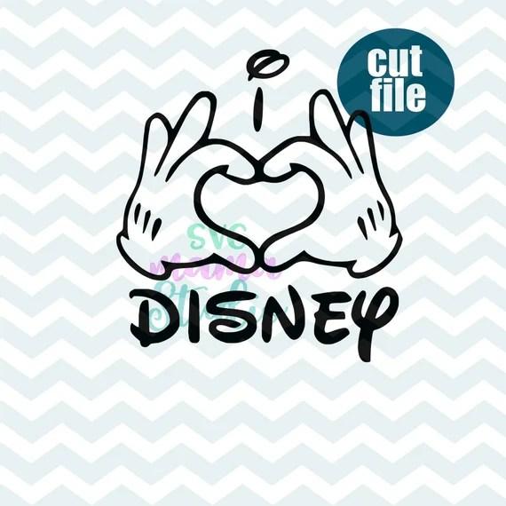Download I love disney SVG i heart disney svg disney valentine svg ...