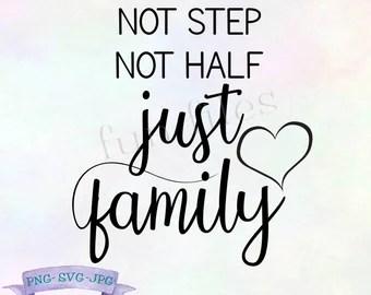 Download Blended family quote   Etsy