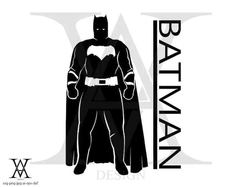 batman vector clipart silhouette